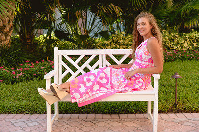 Treasure Island FL Beach Senior Portraits Headshots by St Petersburg Photographer Kristen Sloan