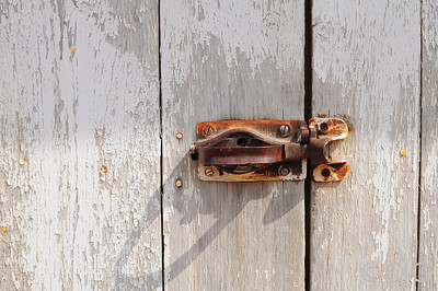 Shed Door Latch.