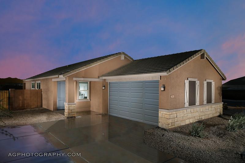 Enclave at Mission Royale Models by Meritage Homes, Casa Grande, AZ, 10/20/22.