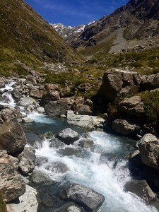 Otira Valley Track taken at the foot bridge