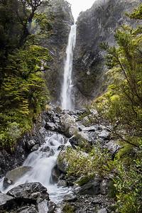 Devils Punchbowl Falls  - Arthur's Pass