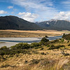 Waimakariri river at the Mt White bridge - Arthurs Pass