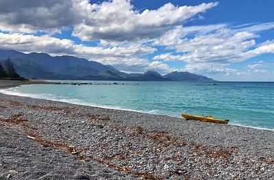 Kaikoura beach front