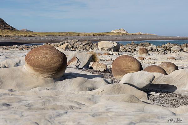 Ward Beach boulders
