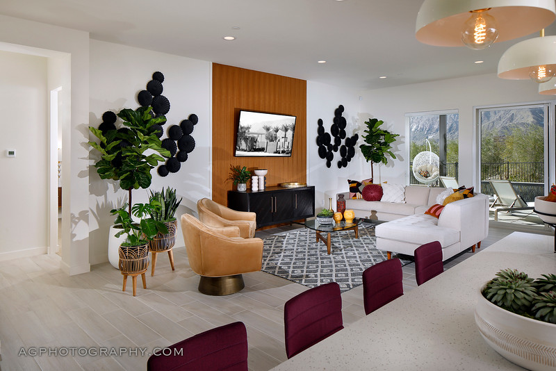 Flair at Miralon Models by Woodbridge Pacific Homes, Palm Springs, CA, 2/12/20.