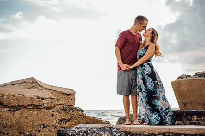 St Pete Beach Couples Engagament Session