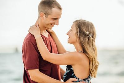 St Pete Beach Couples Engagament Session
