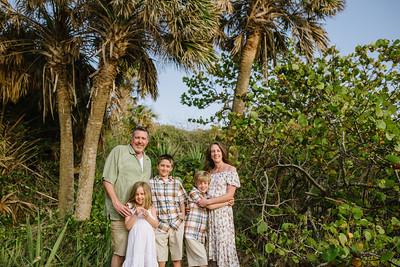 St pete Beach Family Portraits at Fort De Soto