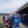My tandem skydiving/instructer, Sonya - it was her birthday!<br /> Photo by Lisa Votava