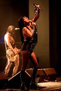 Glam Skanks Perform in Toronto