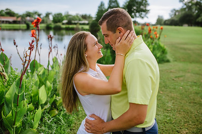 Golf Engagement Session at Seminole Lake Country Club