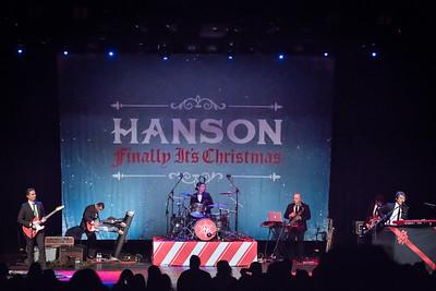 Hanson Perform in Toronto