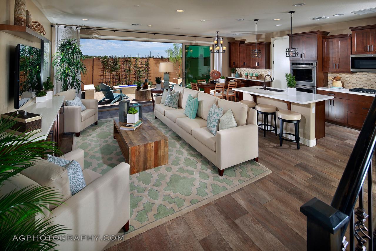 Inspirian at Eastmark by Cal Atlantic Homes, Mesa, AZ, 8/9/17.