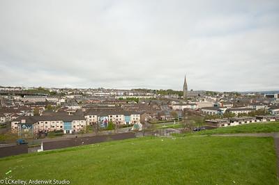 Bogside cityscape