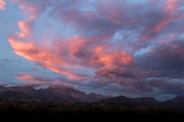 Sunset Hapuku