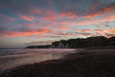 Sunset at Gore Bay - Canterbury