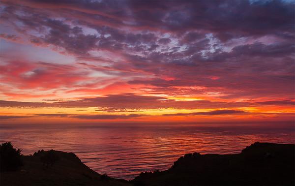 Sunrise Moeraki
