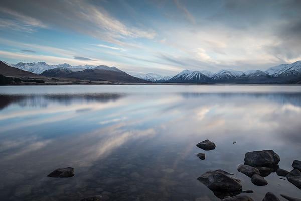 Lake Heron, Hakatere - New Zealand
