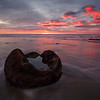 Sunrise at Moeraki Boulders, Otago