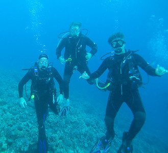 Kona Manta Dive 23-Aug-2012