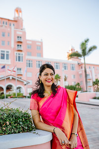Indian Sari Portrait Session at Loews Don Cesar Hotel St Pete Beach