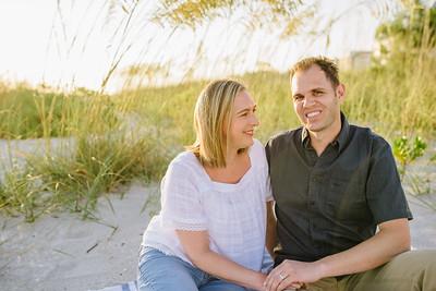 Longboat Key Florida Family photos at sunset