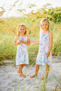 Longboat Key Family Photos at Little Gull Cottages