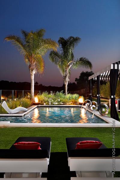 Mark Scott Associates Landscape Architecture, Newport Beach, CA, 8/3/18.