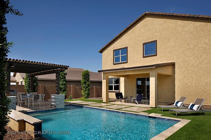 Marley Park Models by Meritage Homes, Phoenix, AZ, 7/19/19.