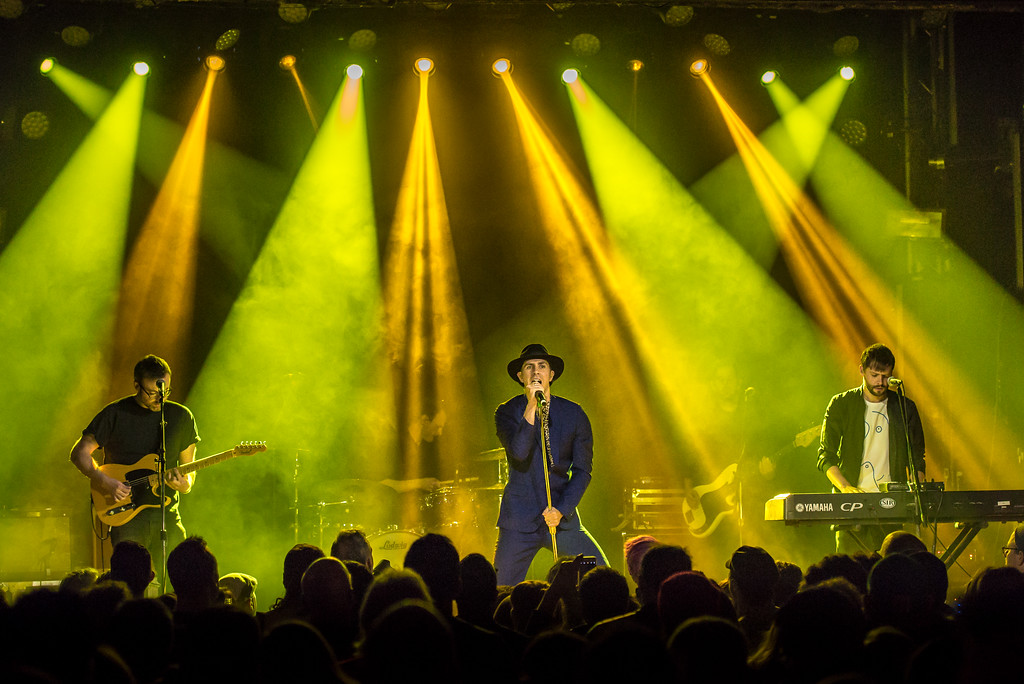 Maximo Park Perform in Toronto