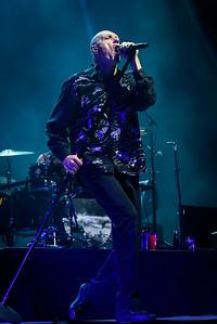 Midnight Oil Perform in Toronto