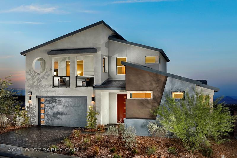 Midnight Ridge Models by Pardee Homes, Henderson, NV, 8/20/20.