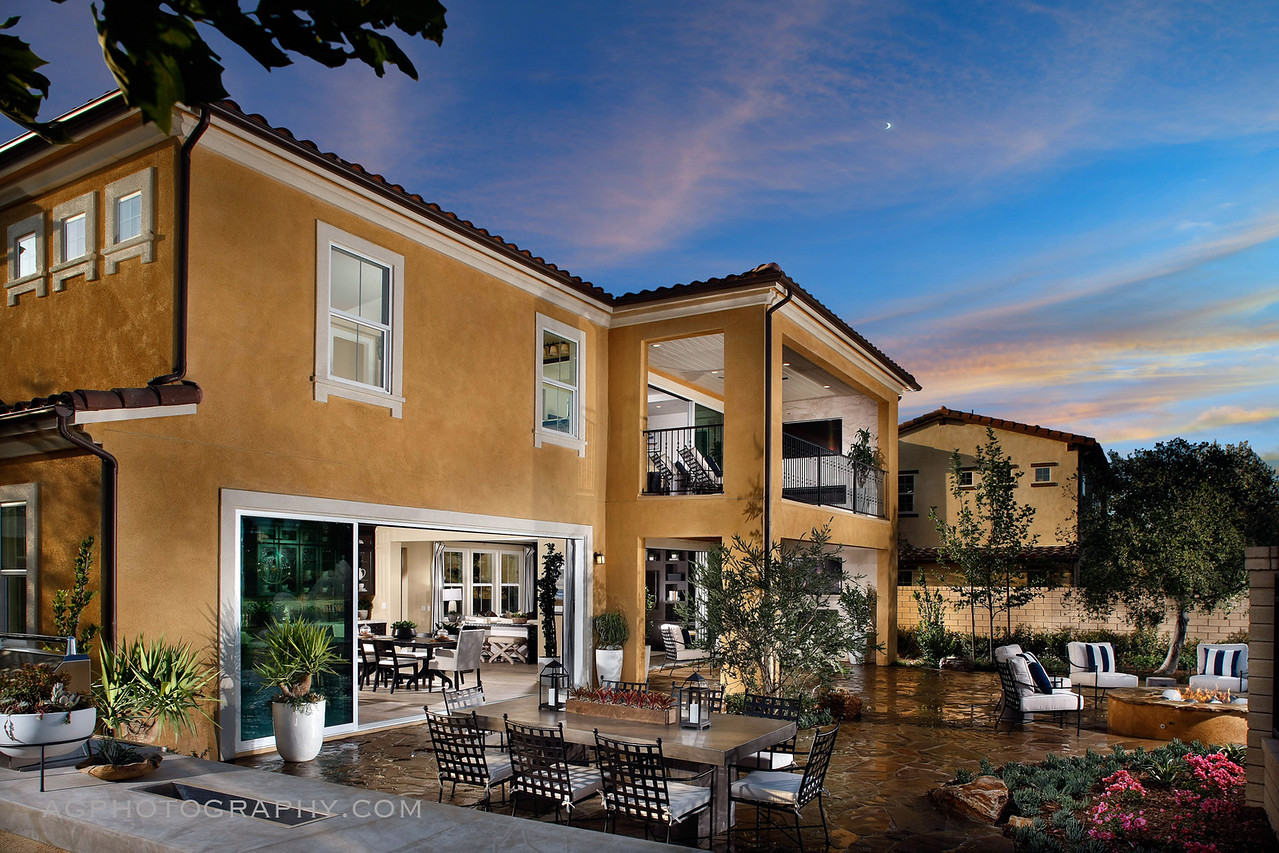 Montellano Estates Models by CAL Atlantic Homes, Thousand Oaks, CA, 5/20/16.
