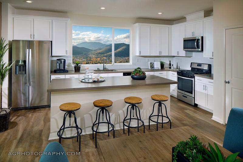 Mosaic Models by Meritage Homes, Northridge, CA, 9/10/19.