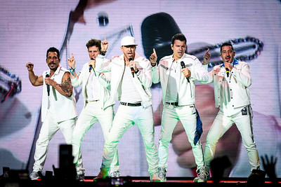 New Kids on the Block Perform in Toronto