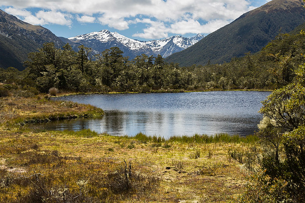 Tarn in the Lewis Pass -  Canterbury