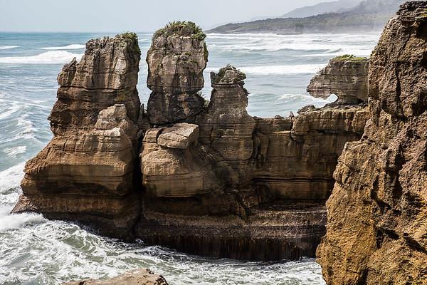 Punakaiki Pancake Rocks, West Coast  - NZ