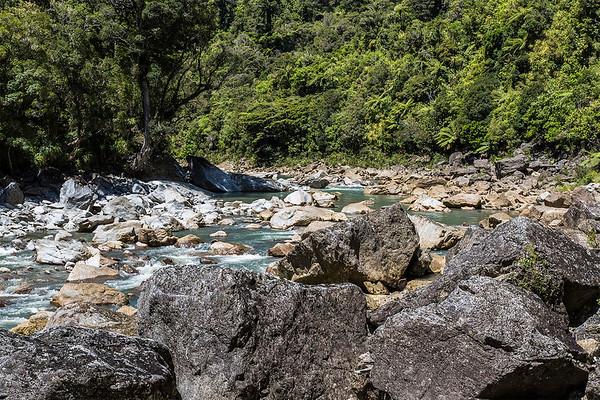 Ngakawau River  -  West Coast