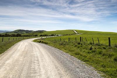 Moeraki countryside