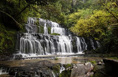 Purakaunui Falls  - Catlins, Otago