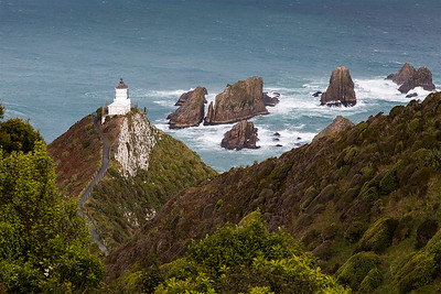 Nugget Point Lighthouse - Catlins Otago NZ