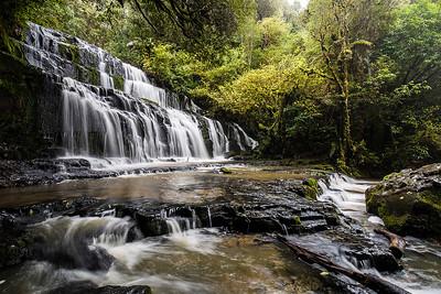 Purakaunui Falls  Catlins Otago