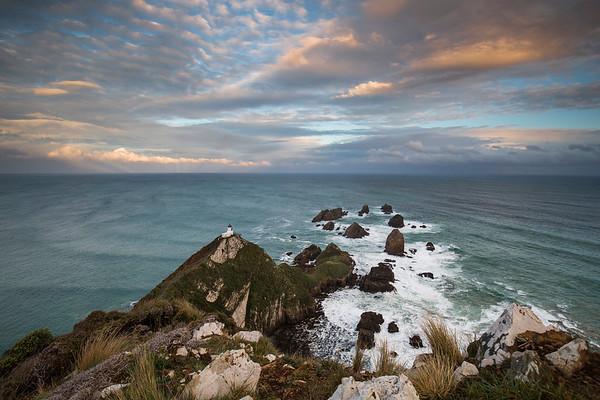 Nugget Point Lighthouse  -  Catlins Otago NZ