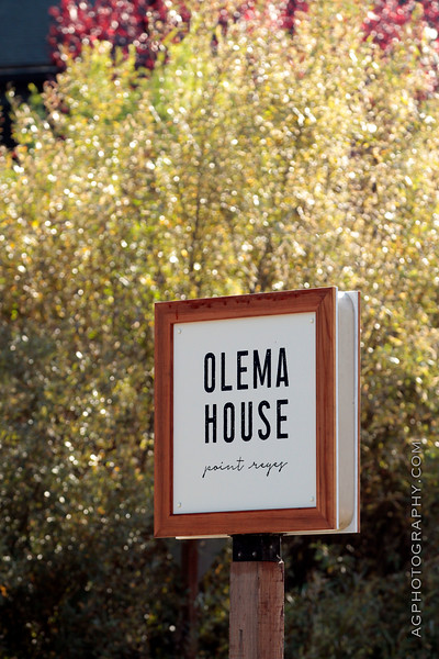Specualtive Photography of Olema House, Point Reyes Station, CA 11/8/18