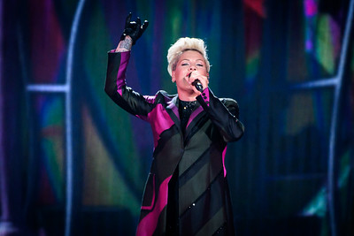 Pink Performs in Toronto