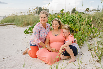 Pass A Grille Beach Maternity Portraits
