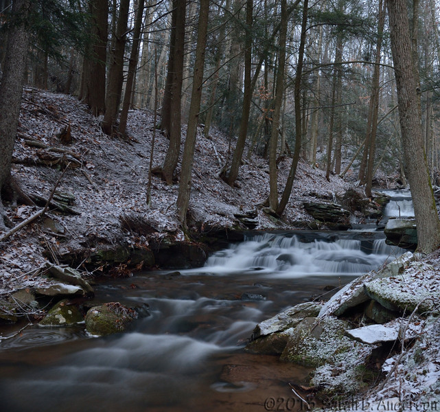 Lower cascades of Freeland Run<br /> Tucker County, WV<br /> December 2013
