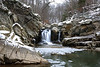 Scott's Run waterfall<br /> <br /> Fairfax County, Virginia<br /> January 2012