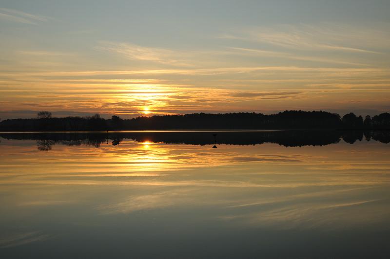 Sunrise over Blackwater NWR, Maryland<br /> <br /> December 2011