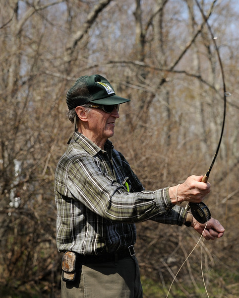 Wayne, Fly Fishing<br /> <br /> Blackwater River, Tucker County, WV<br /> April 2012